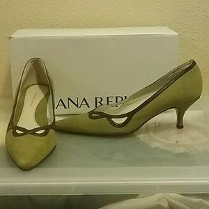 Banana Republic leather&suede heels
